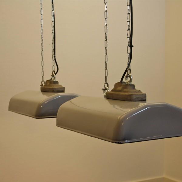 Philips Wall Hanging Lights : Art.nr 1163 Philips enamel pendant light, 1950s RETROHUIS.NL