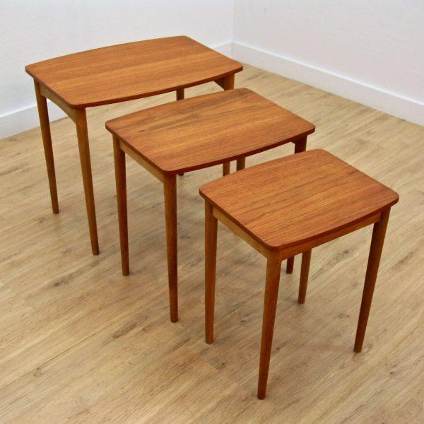 Art.nr 1376 Danish Nesting Tables ...